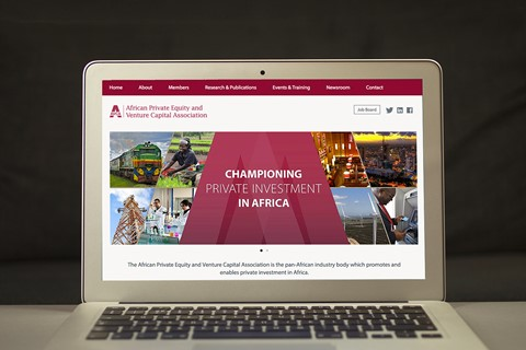 Now live: New corporate website for AVCA