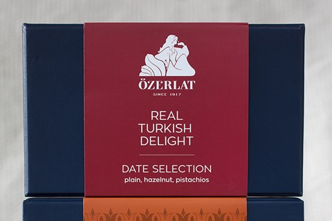 New packaging for Özerlat Turkish Delight