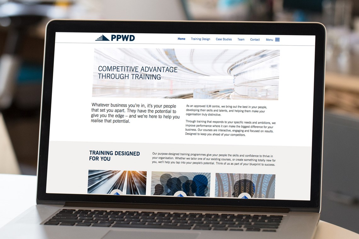 PPWD Consulting website