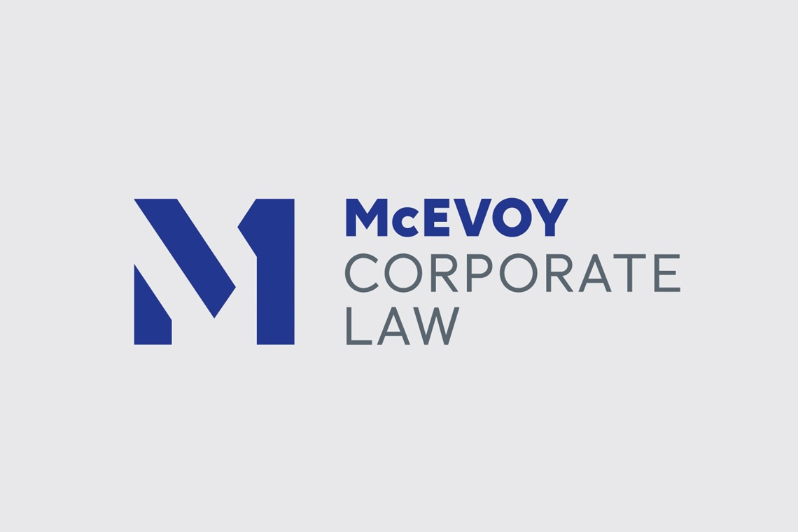 McEvoy Corporate Law identity