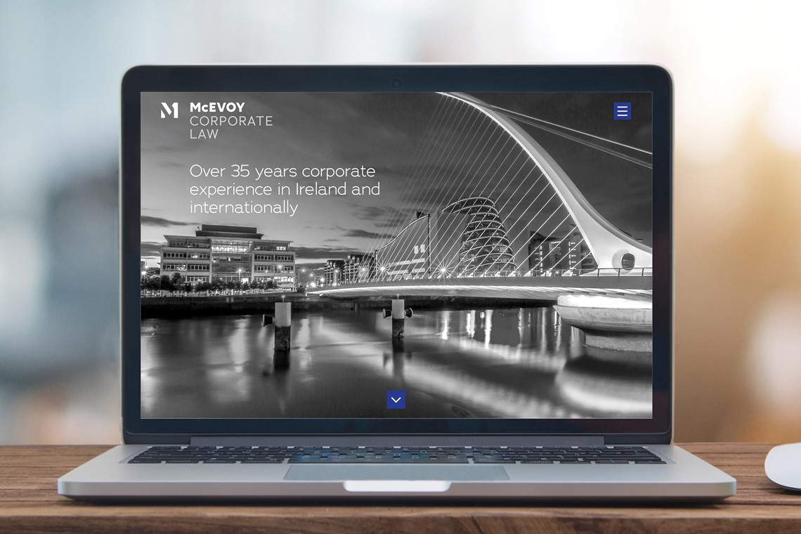 McEvoy Corporate Law website