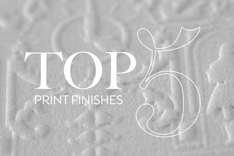 Our top five luxury print finishes
