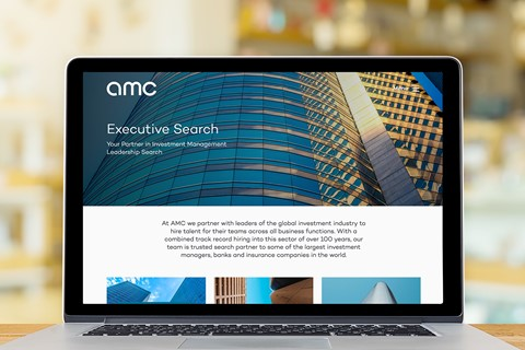 Refreshed brand and a new website for AMC Executive Search