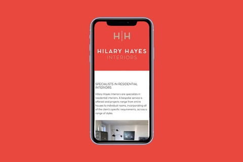 Rebranding and website launch for Hilary Hayes Interiors