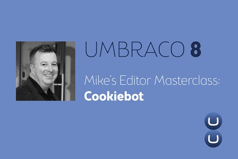 Umbraco and Cookiebot