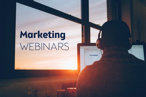 Three design tips for marketing your webinars